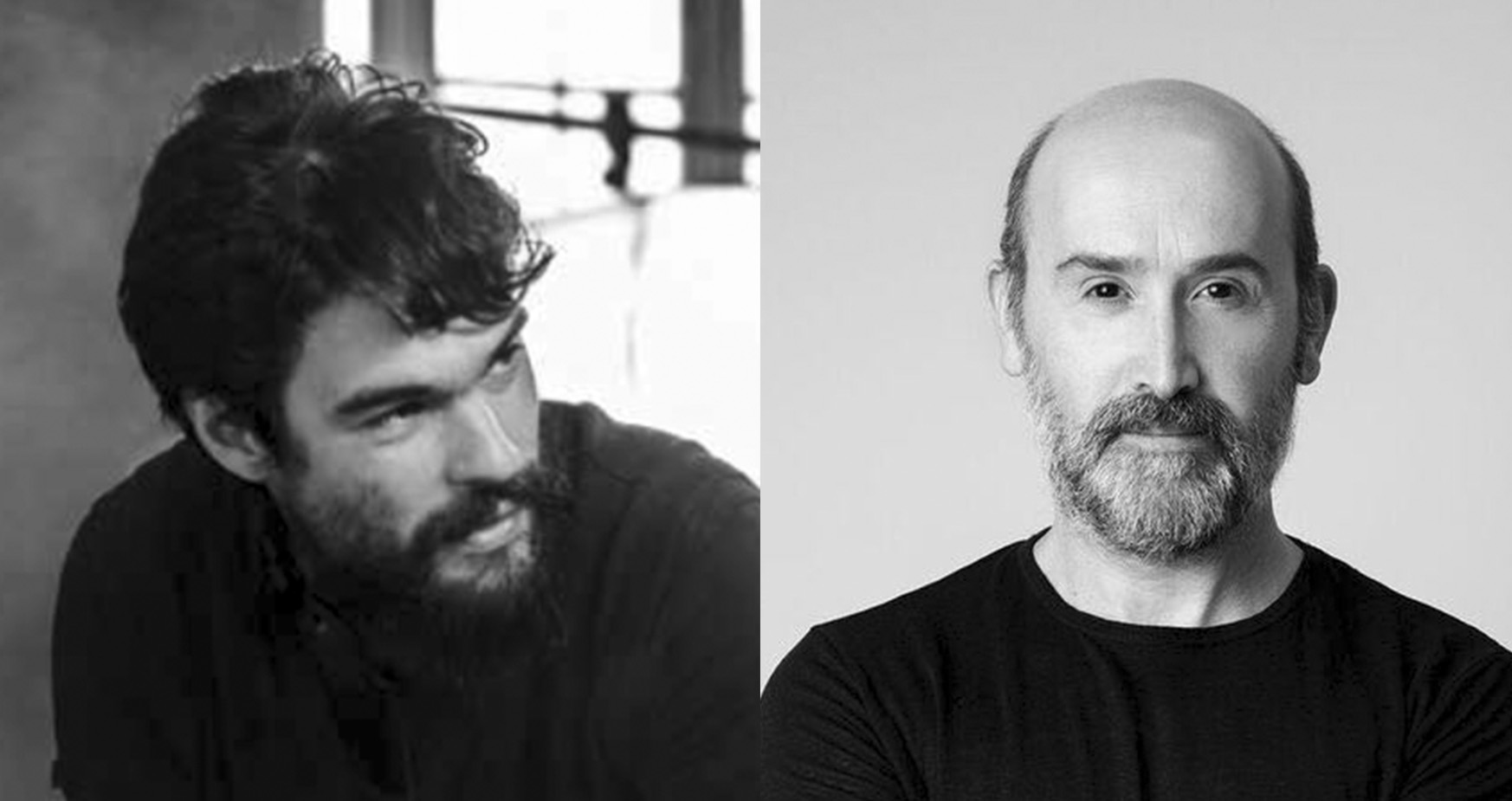 1 Oliver Laxe y Javier Cámara